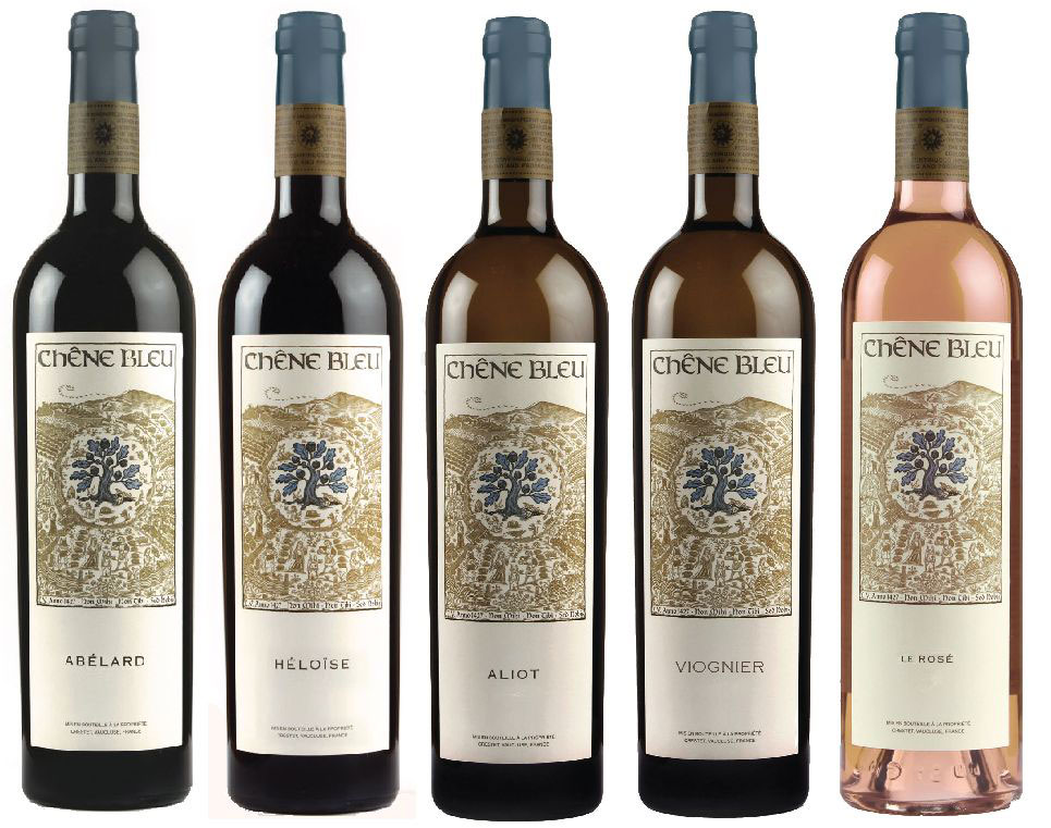 Chene Blue Wine range
