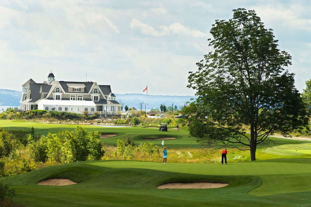 Cobble Beach Golf Links in Ontario
