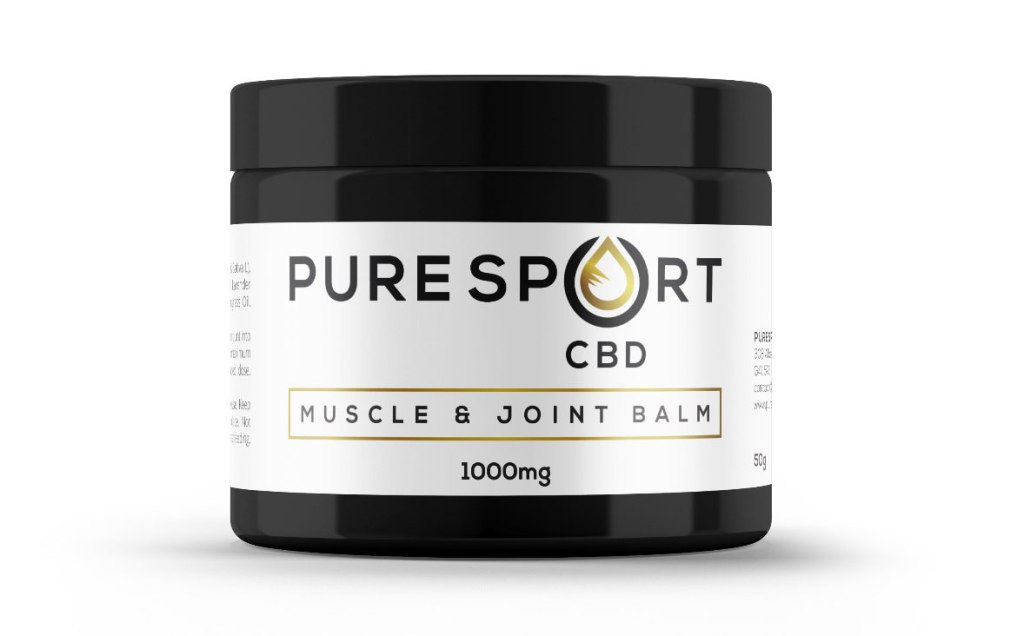 Pure Sport's CBD Muscle & Joint Balm