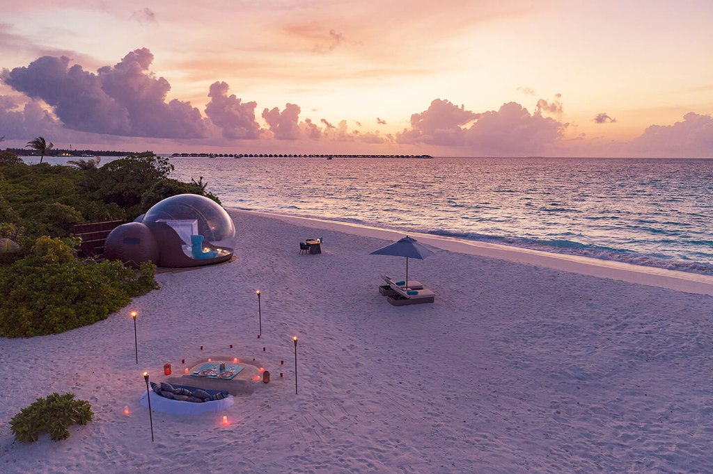 The Extraordinary Beach Bubble Experience at Seaside Finolhu 3