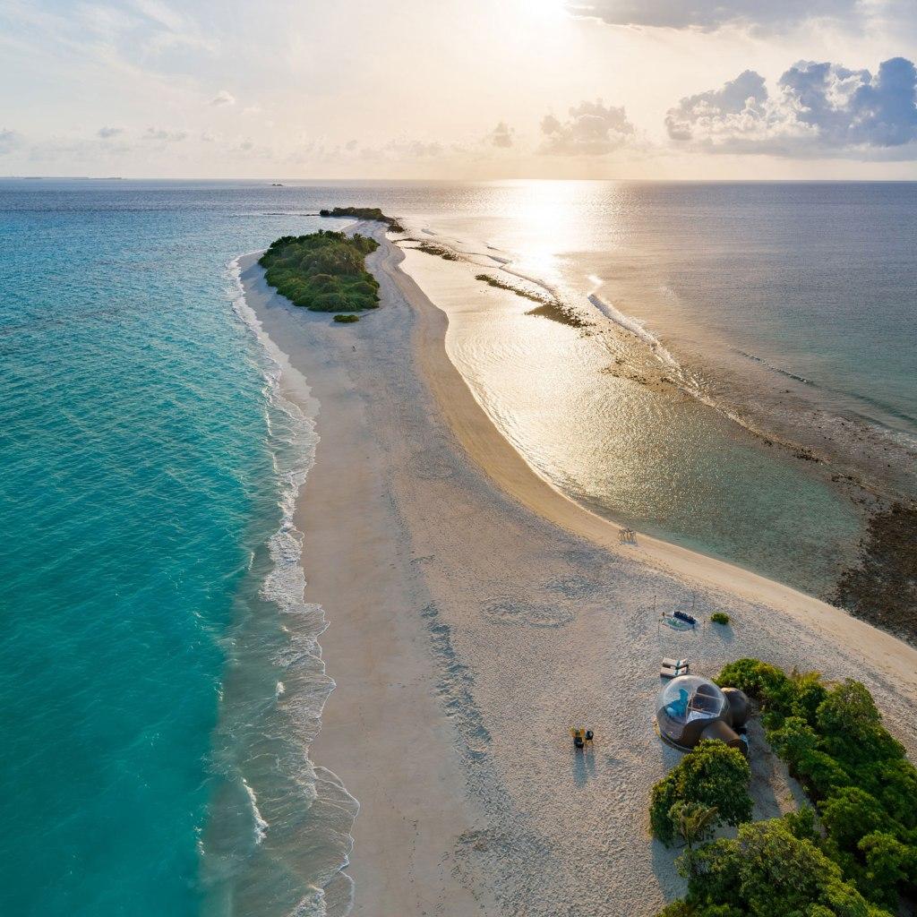 Seaside Finolhu Beach Bubble
