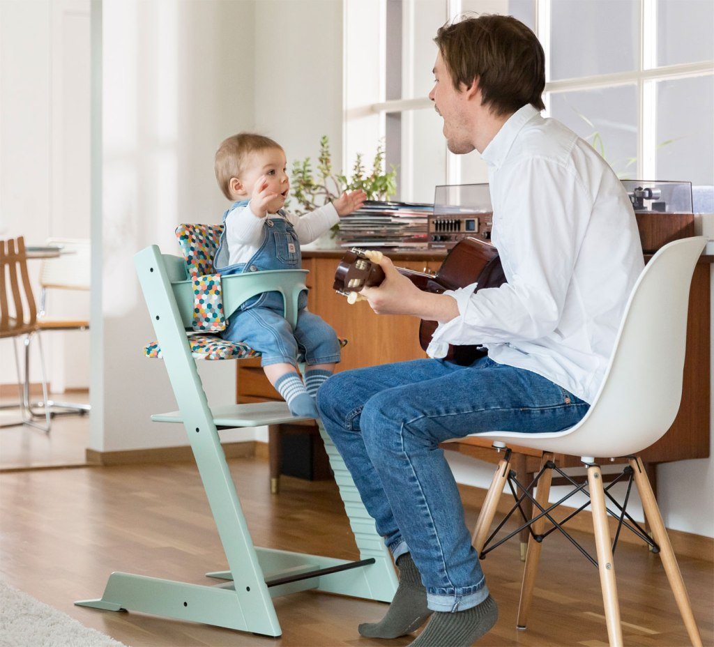 Stokke Tripp Trapp Chair in soft mint