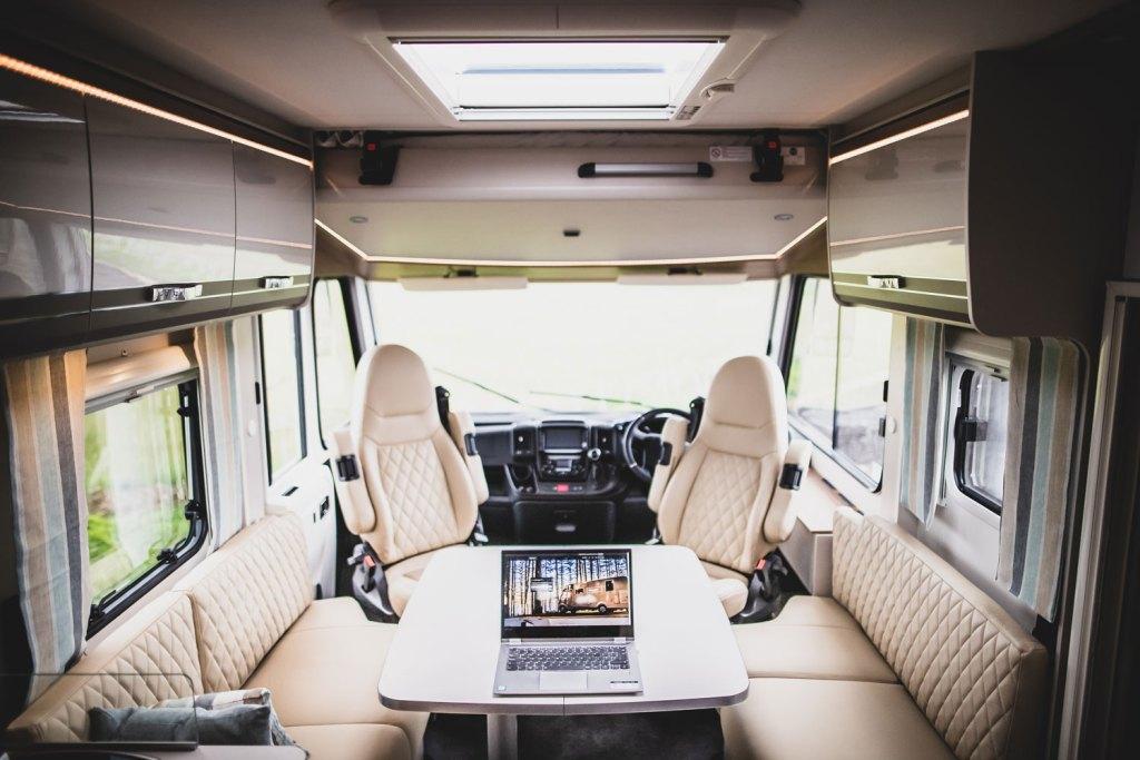 Inside the 7.39m long GlamperRV Business