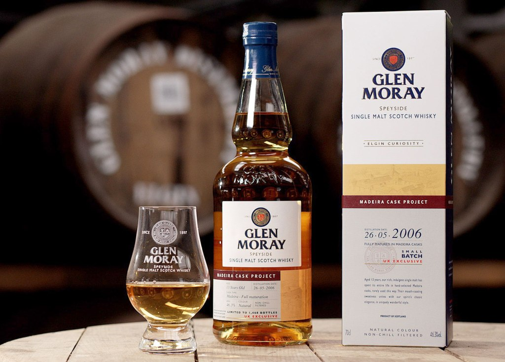 Glen Moray Adds Madeira Cask Project To Curiosity Whisky Range