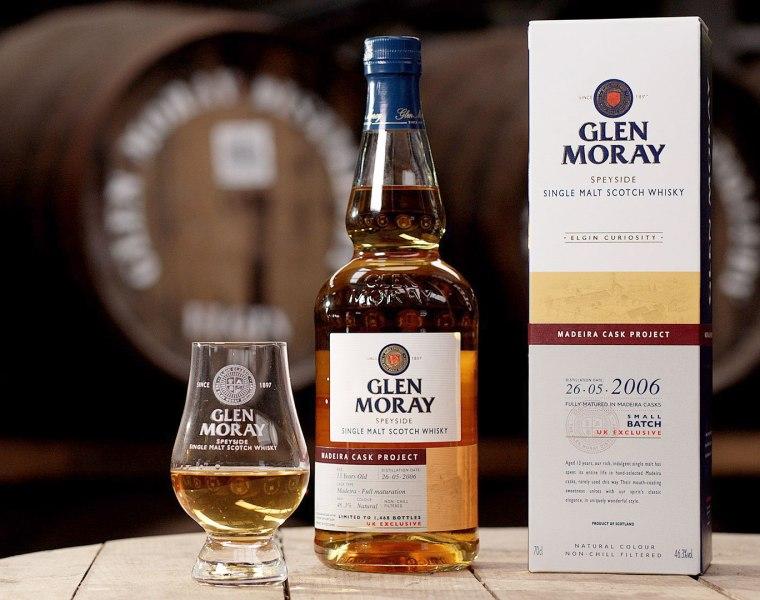Glen Moray Adds Madeira Cask Project To Curiosity Whisky Range
