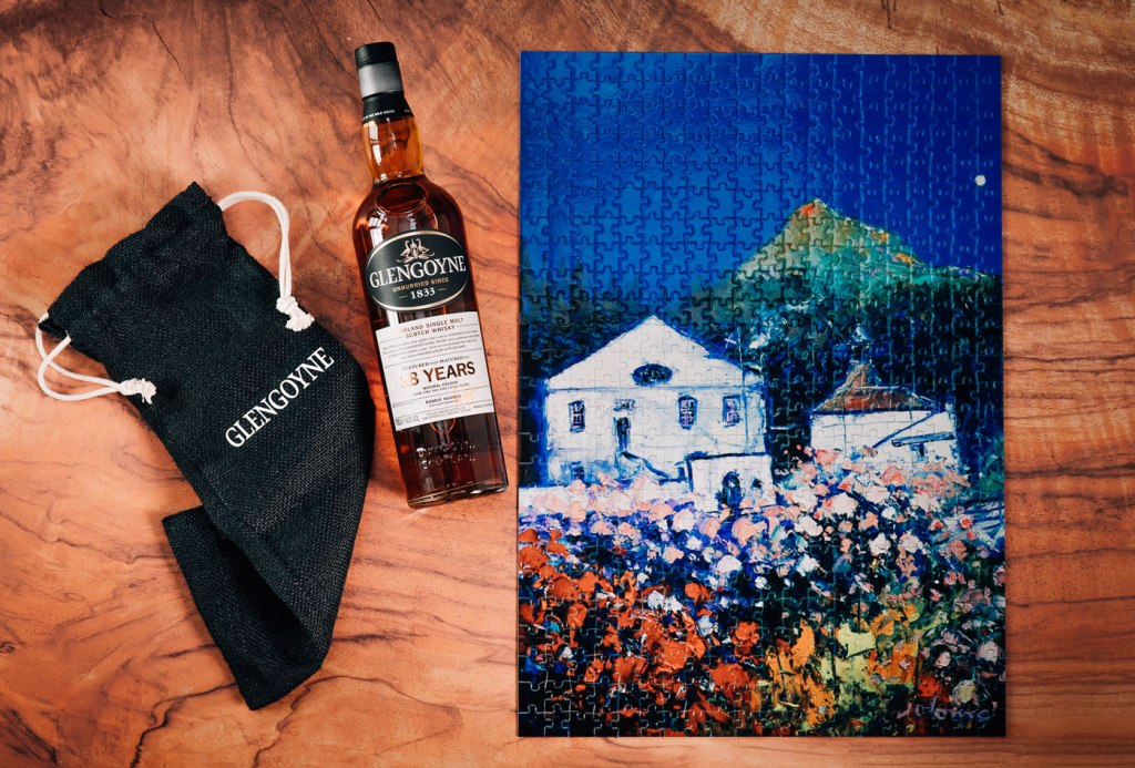 A Glengoyne Distillery Puzzle We Couldn't Resist Solving