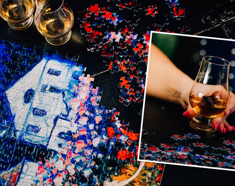 Glengoyne Distillery limited edition jigsaw puzzle