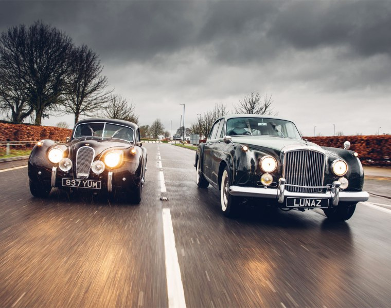 Lunaz electric classic car sales increase in 2020