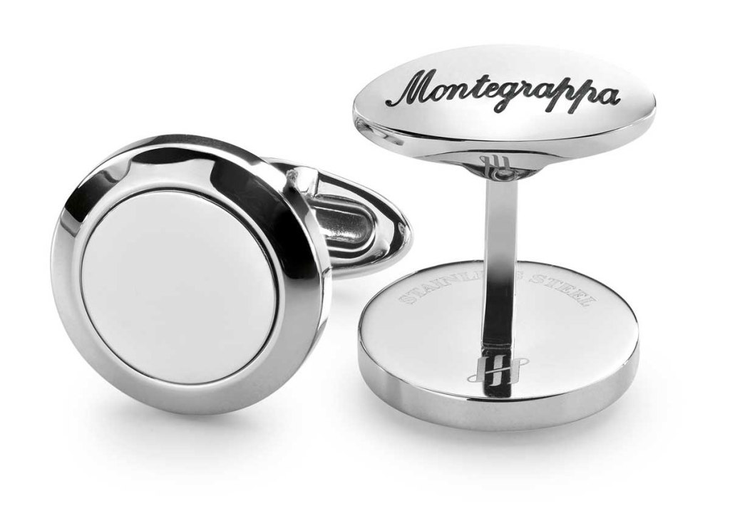 Montegrappa Classico Monogram Cufflinks pre-engraving