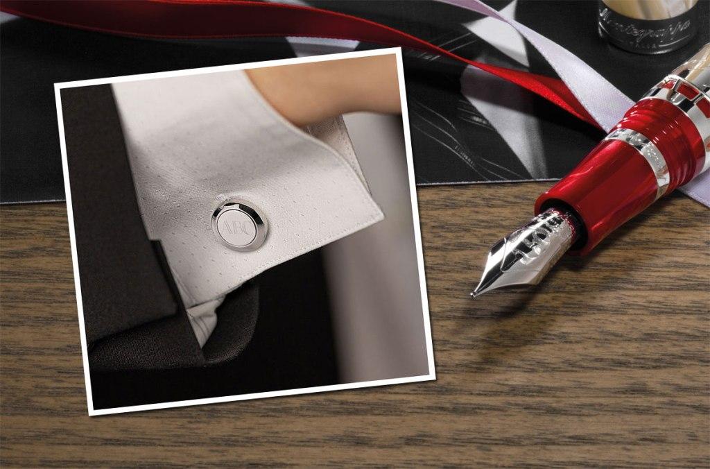 Montegrappa Classico Monogram Cufflinks Make Fathers Day More Personal