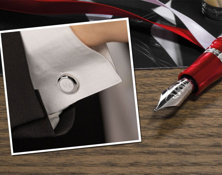 Montegrappa Classico Monogram Cufflinks Make Fathers Day More Personal