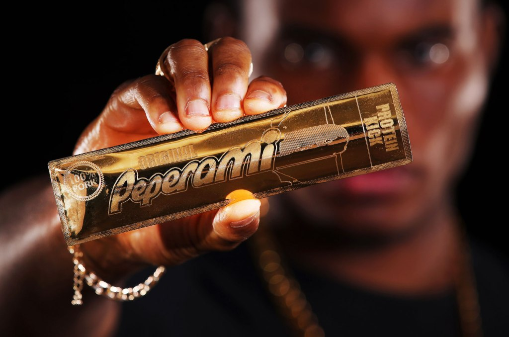 Feeling Peckish? Don't Sink Your Teeth into this 18k Gold Peperami