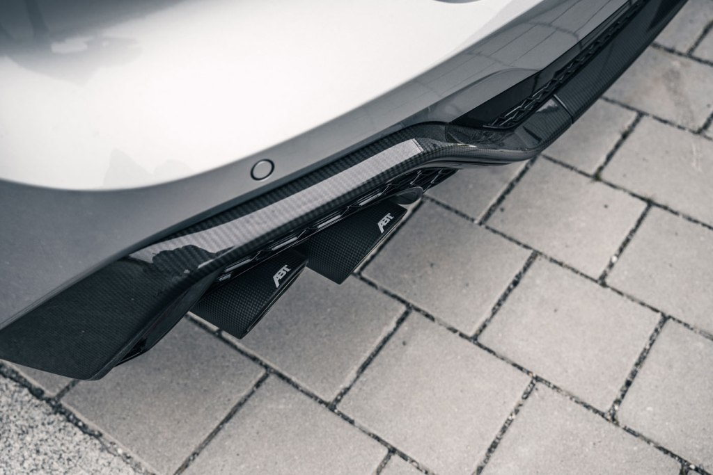 ABT Sportsline RS6 exhaust system