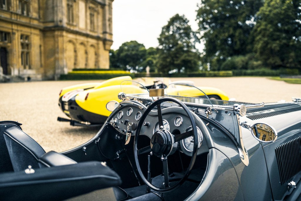 Classic cars at Auto Royale which takes place in the grounds of Waddesdon Manor