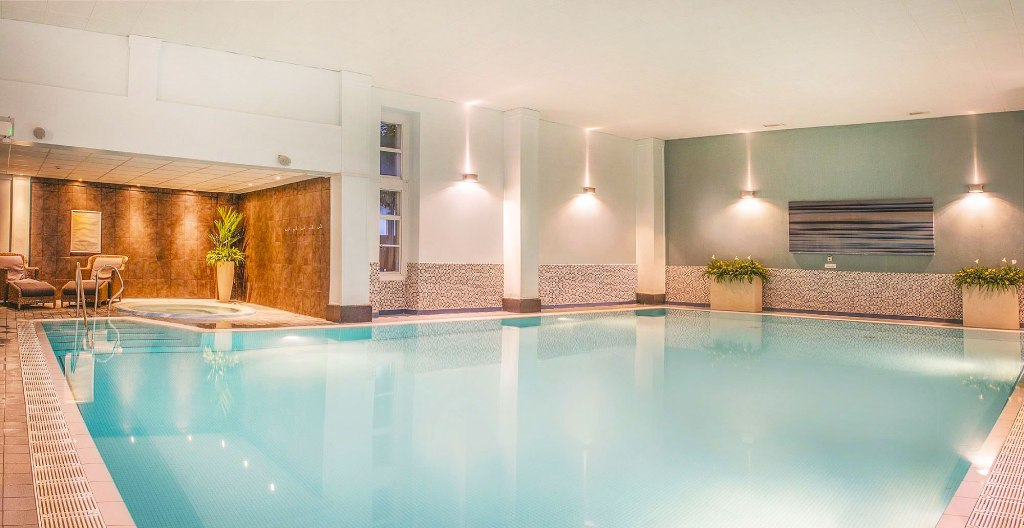 The spa pool at De Vere Tortworth Court