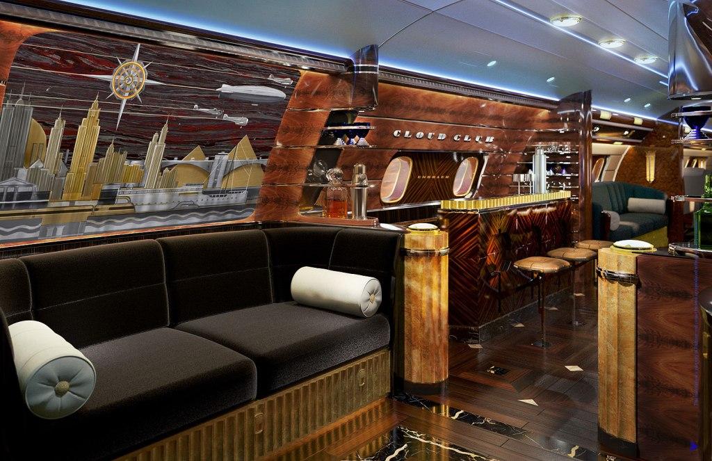 Embraer Executive Jets Cloud Club