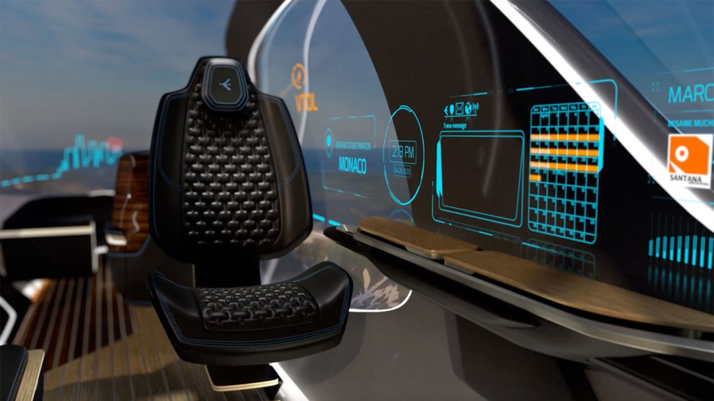 Embraer Jets Pulse Concept interior
