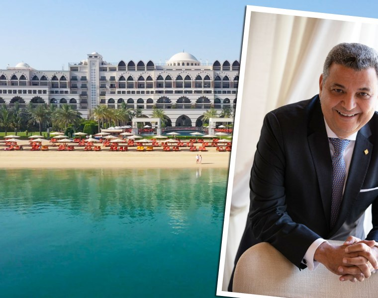 Mahmoud Sakr of Jumeirah Zabeel Saray Hotel