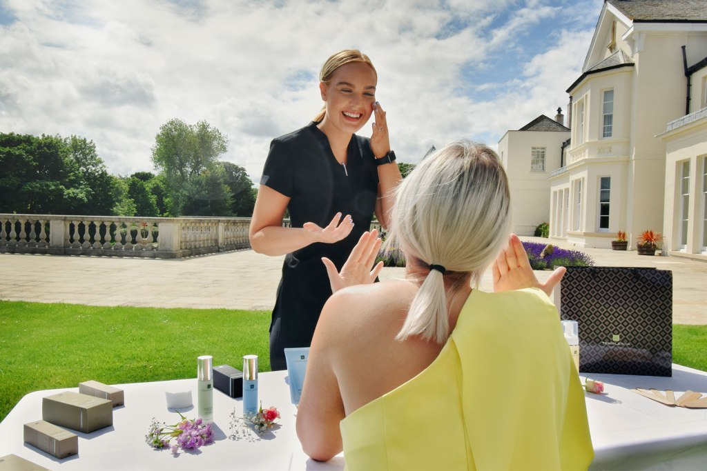 Seaham Hall summer spa party