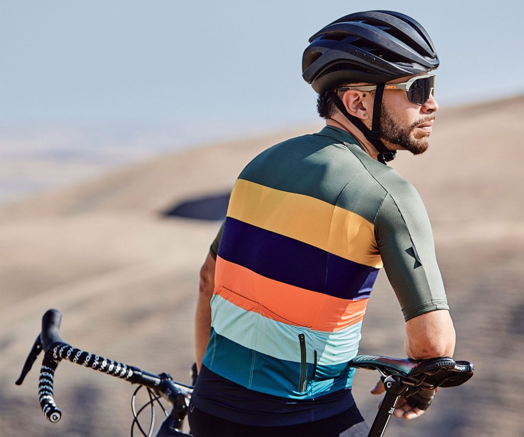 The Velocio SE Jersey with sweat-wicking technology