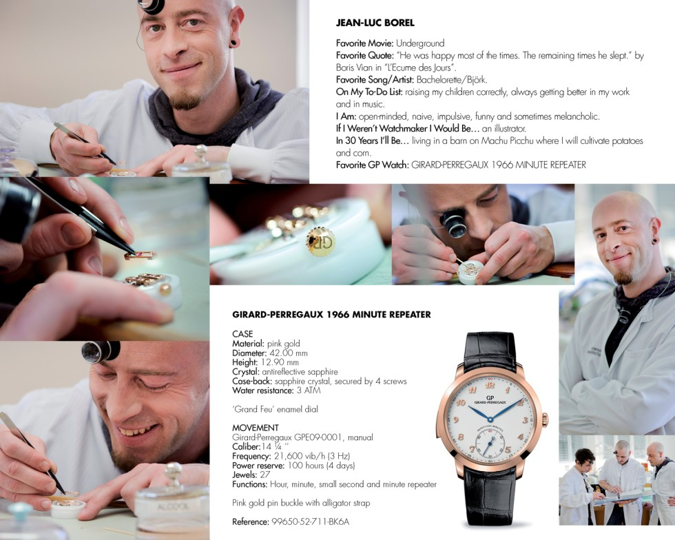 Girard-Perregaux Young Watch Makers
