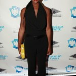 Tika Sumpter at 40/40 Club Grand Opening in the Barclays Center