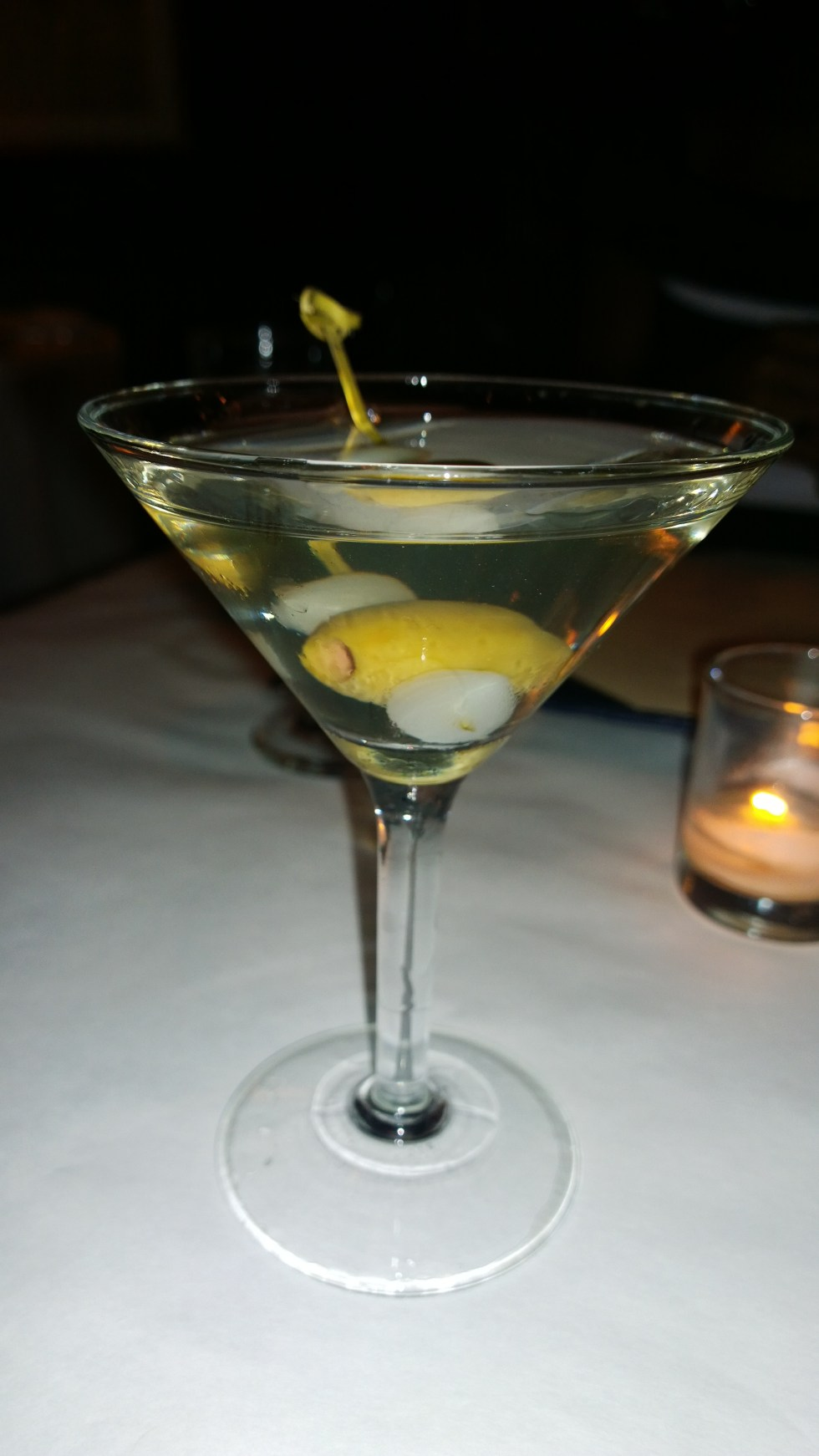 Bill's Food and Drink - Gibson Martini
