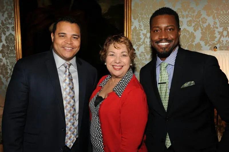 Hector Baez, Yolanda Santiago, Phaon Spurlock (Photo Credit: Barry Williams/AnnieWatt.com)
