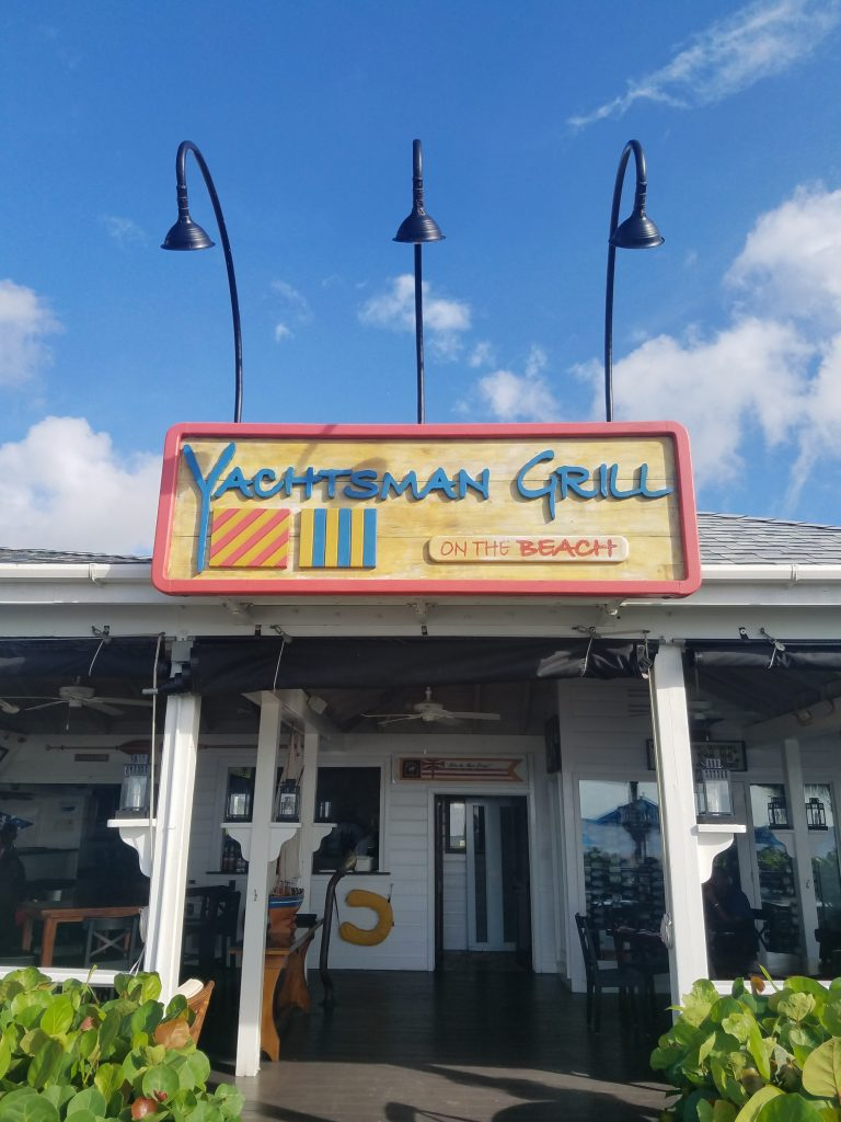 yachtsman grill nevis