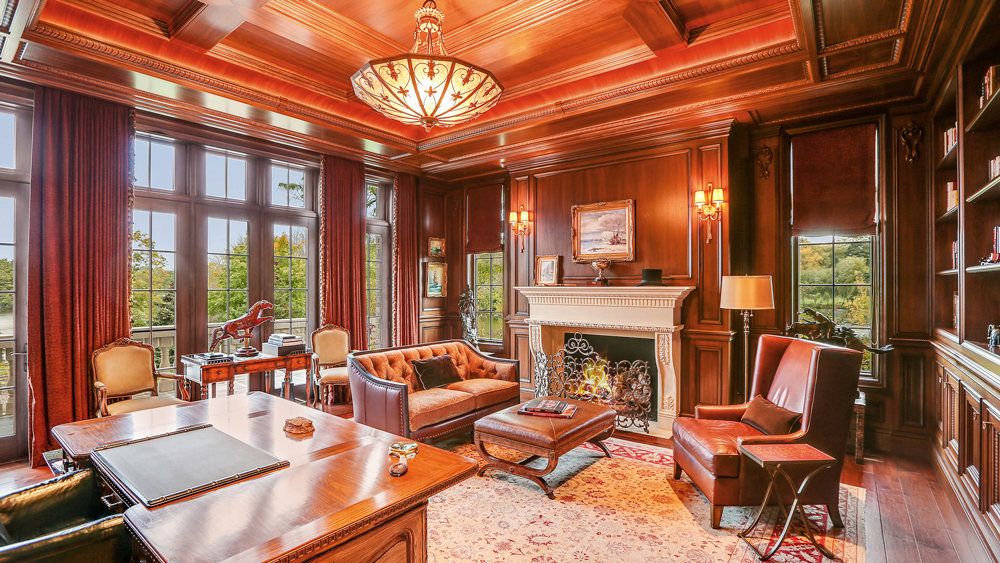 Lucious Lyons Amazing Palatial Lakefront Mansion in