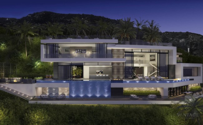 Beautiful And Luxury Futuristic Looking Home Concept