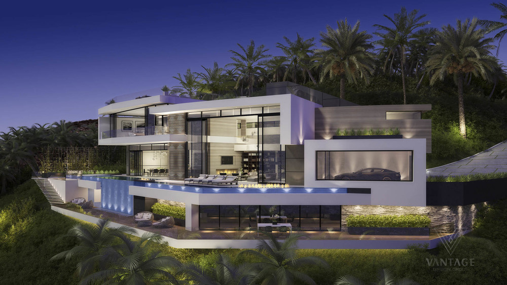 Beautiful and Luxury Futuristic Looking Home Concept | Modern and ...