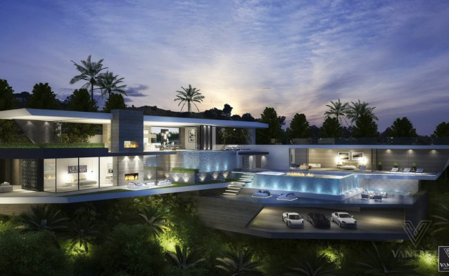 Amazing Futuristic Looking Home Design Concept From