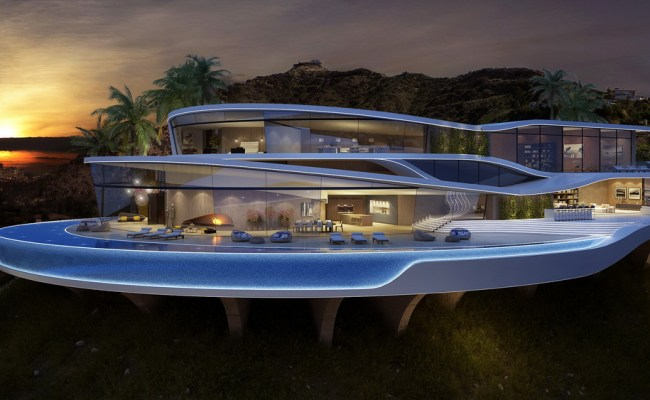 Amazing And Luxury Futuristic Looking Home Concept From