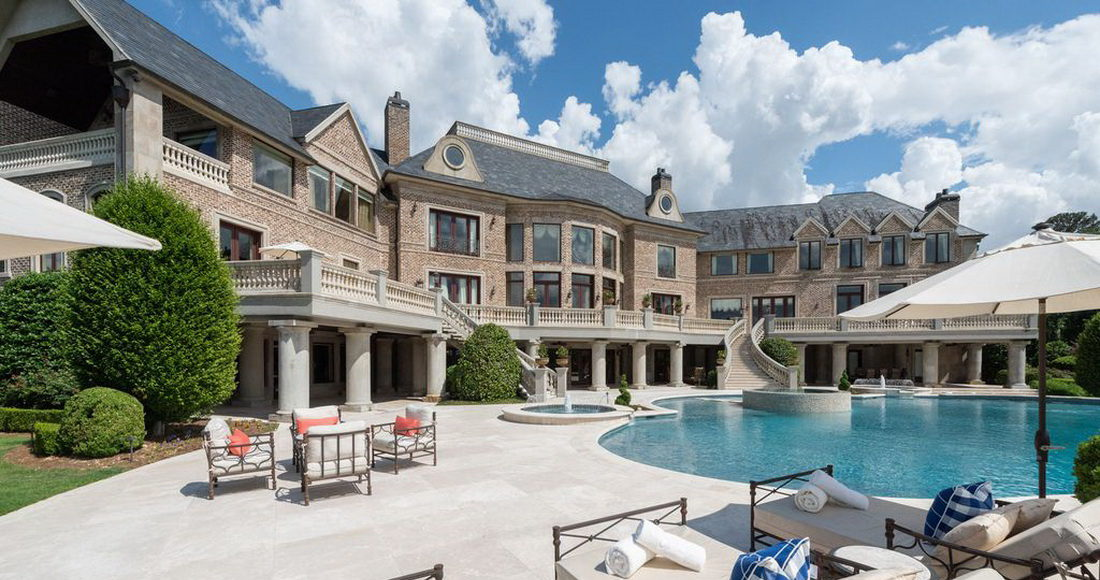 Tyler Perry S Former Atlanta Mansion Is Georgia S Most
