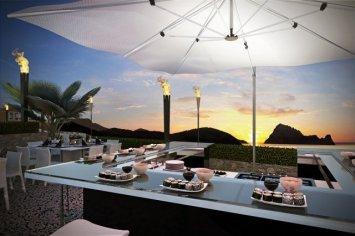 """LIM 7Pines Restaurant 03 - Escape to Paradise – Neues Luxusresort """"7 Pines"""" auf Ibiza"""