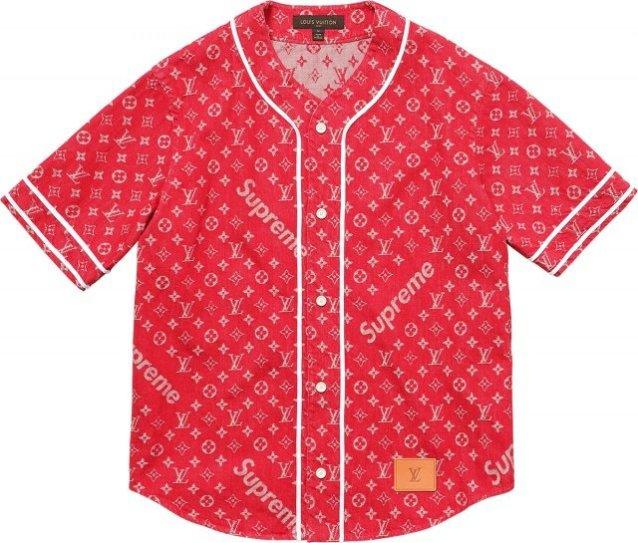 Supreme-Louis-Vuitton-Baseball-Shirt