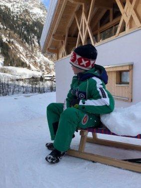 Feuerstein Family Resort Brenner schlittenfahren - Feuerstein Family Resort am Brenner in Südtirol - Entspannter Luxus