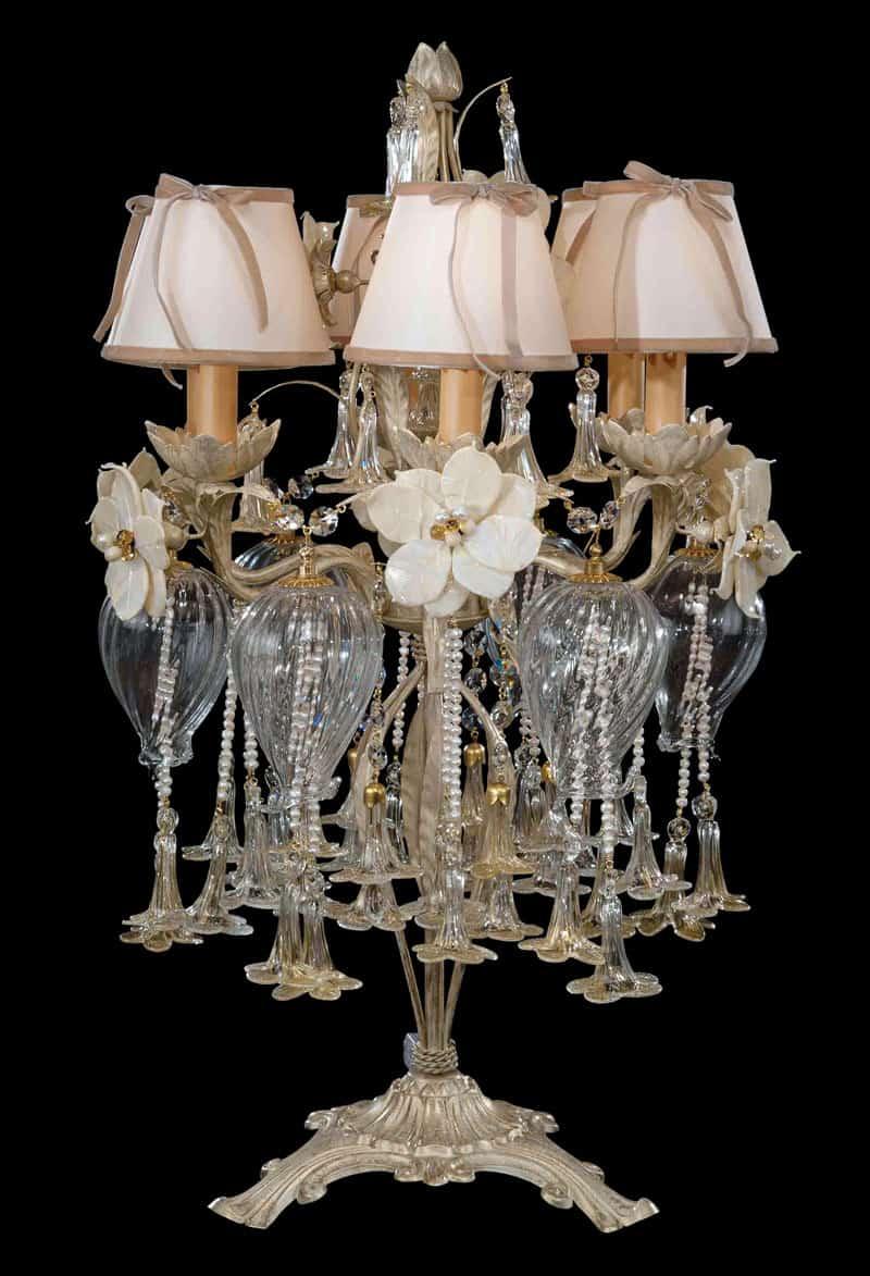 Scopri le collezioni dei migliori brand internazionali come: Lampade Da Tavolo Di Design Abat Jour Moderne E Classiche In Cristallo Di Murano Lusso Artigianale E Artistico