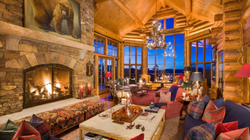This 18 Million Log Cabin Puts All Others To Shame  Luxury4Playcom