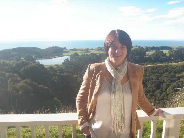 Kay at Cape Kidnappers