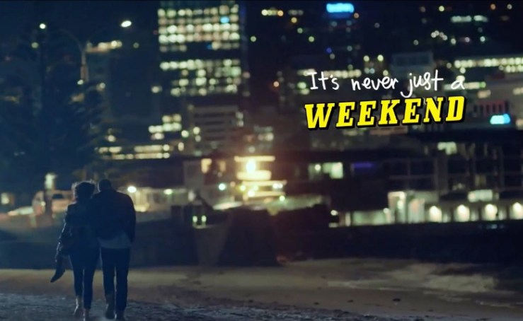 It's never just a weekend, Wellington