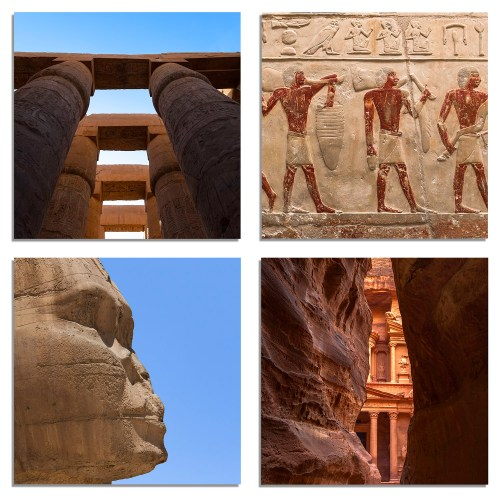 ancient - Accent 4- pack . The Shop at Tradewinds Travel Photography