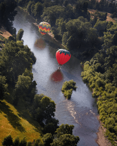 Jim Chamberlain, hot air balloon