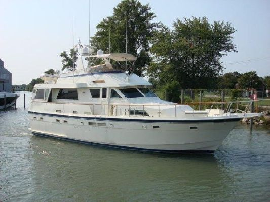 1987 Hatteras 54 Motor Yacht Boats Yachts For Sale