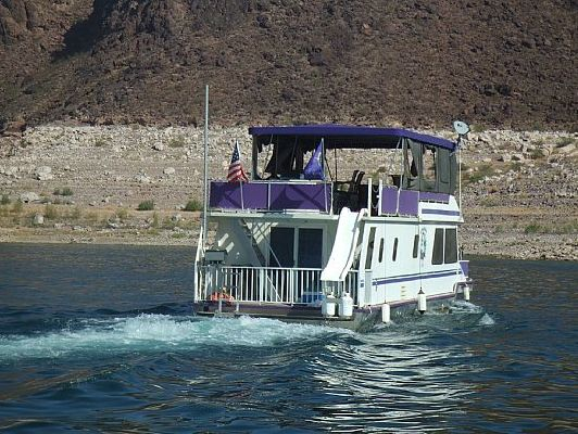 1991 FUN COUNTRY MARINE IND INC 56 Houseboat  Boats