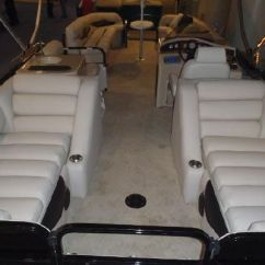 Captains Chair Cover For Pontoon Boat Leather Wingback With Nailhead Trim Lake Hopatcong Marine Archives - Boats Yachts Sale