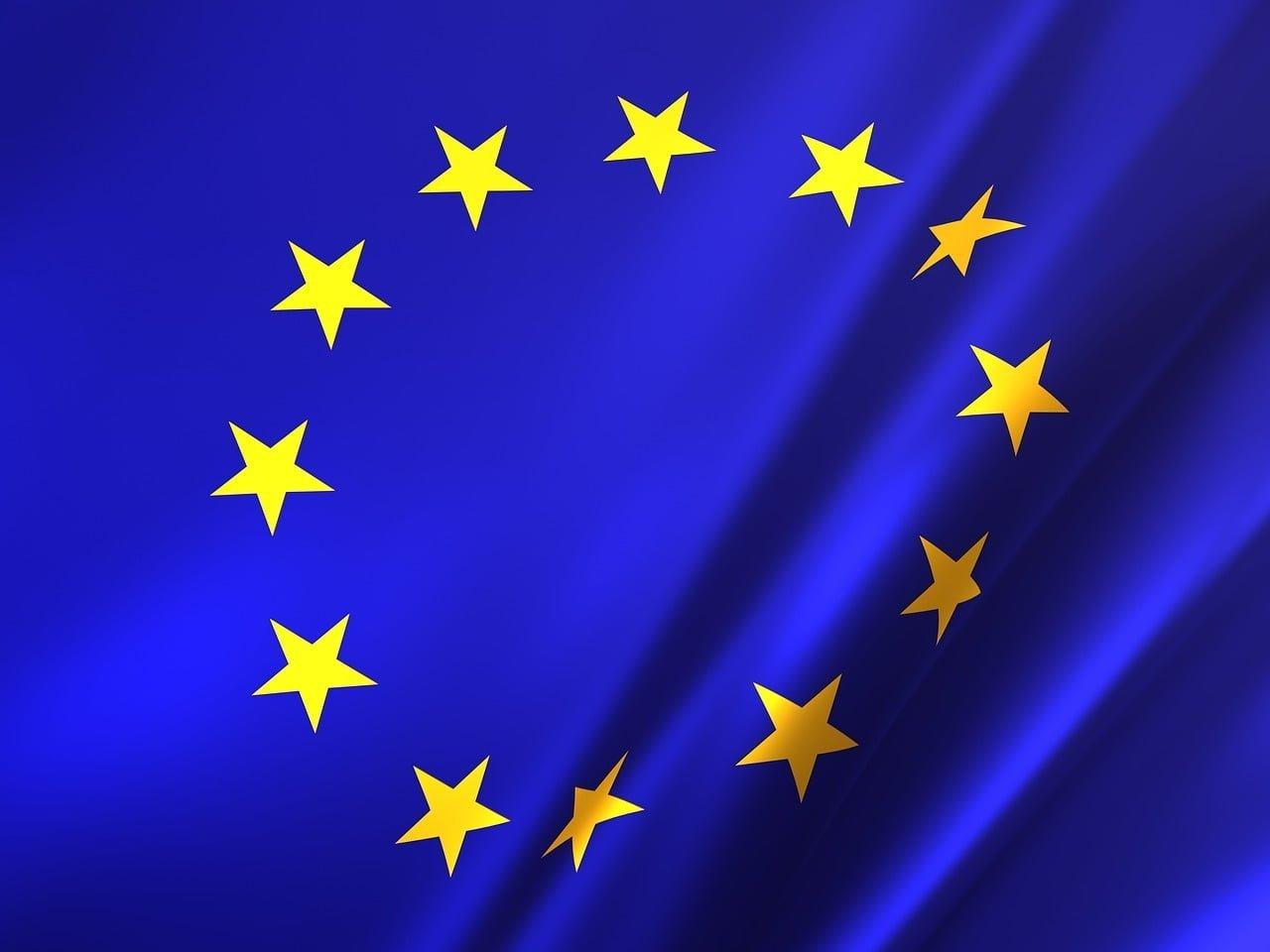 eu, flag, europe