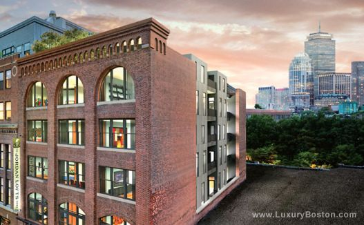 South End Loft Style Condos Boston