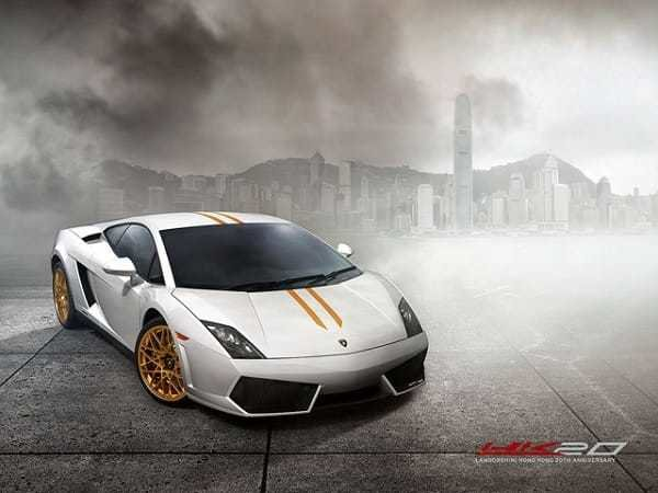 Lamborghini Gallardo LP550-2 HK20 Special Edition